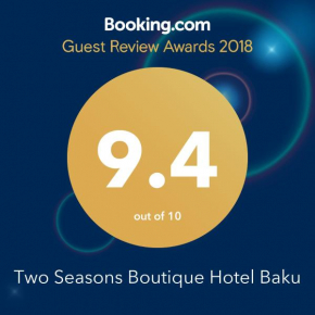 Two Seasons Boutique Hotel Baku